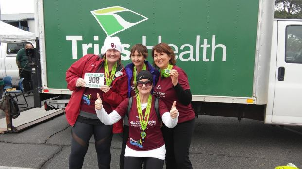 Team AEM for Tri-Cities River and Wine Marathon