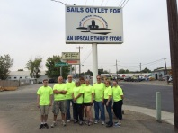 AEM Volunteer Day at Sails Outlet